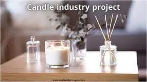 Candle industry project