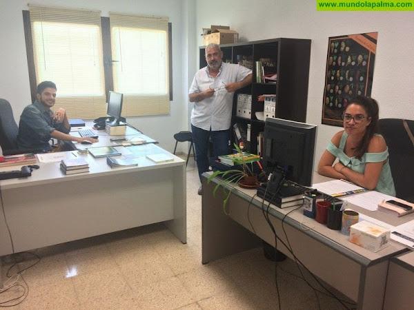 El Cabildo agradece el trabajo de Antonio San Blas al frente de la Reserva de la Biosfera