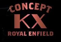 Concept KX Royal Enfield logo.