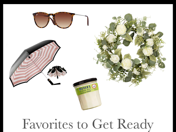 Favorites for Spring -- Mom Edition