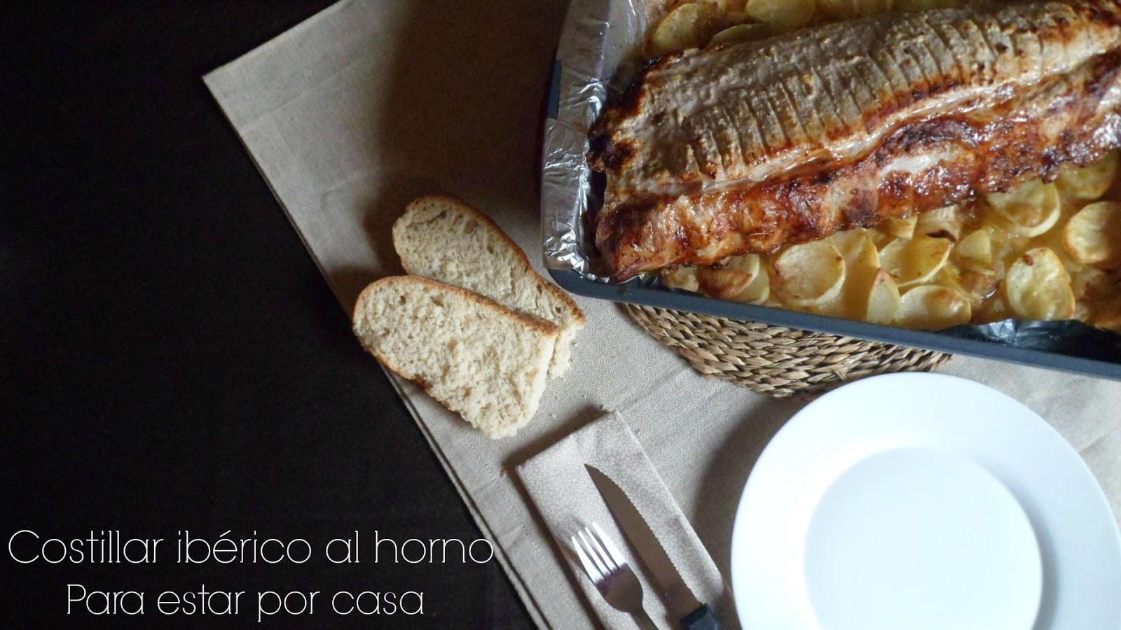 Costillar de cerdo ib rico al horno Solomillo iberico al horno