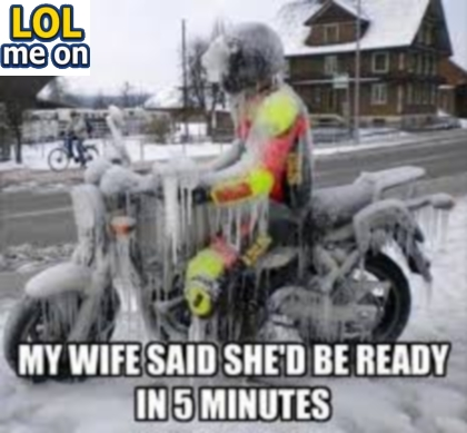 My Wife Said She'd Be Ready In 5 Minutes - Funny Pictures With Caption  Funny pictures