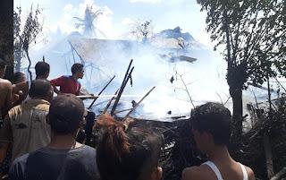 Kebakaran di Jala, Kabupaten Bima