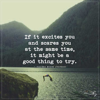If it excites and scares you, try it