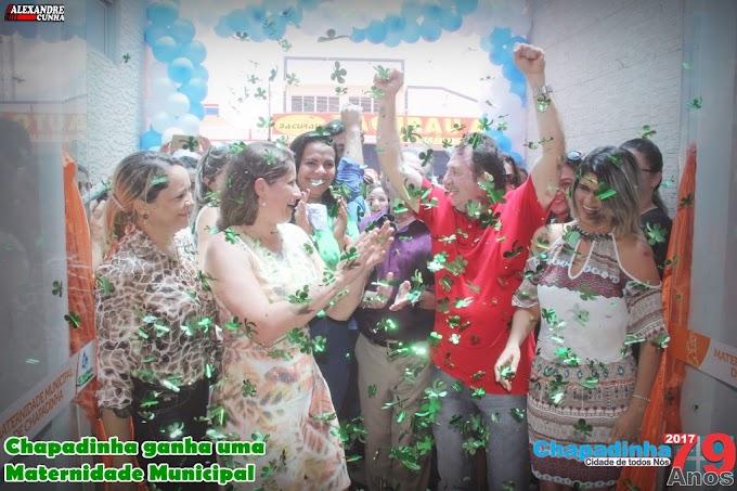 NOVO TEMPO: Conheça a maternidade Municipal de Chapadinha, inaugurada em 29 de março pelo prefeito Magno Bacelar.