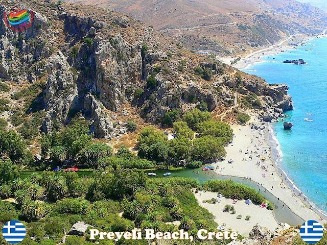 Beaches in Crete