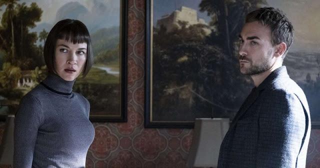 Sidney Lemmon y Tom Austen en 'Helstrom' de Hulu, nueva serie de Marvel