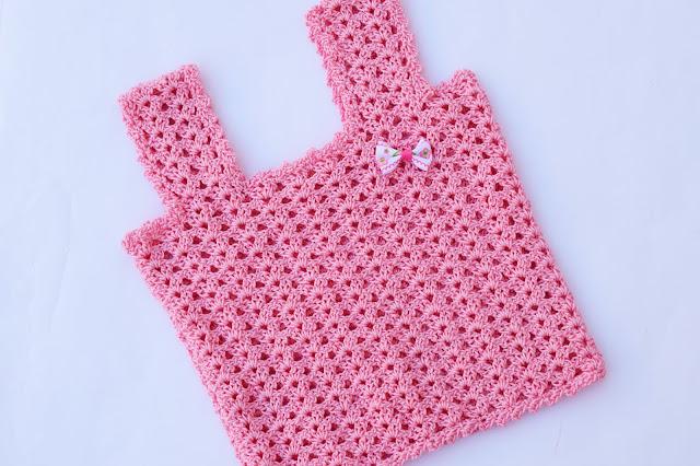 3 - Crochet Camiseta de tirantes a crochet sencilla y fresca por Majovel Crochet