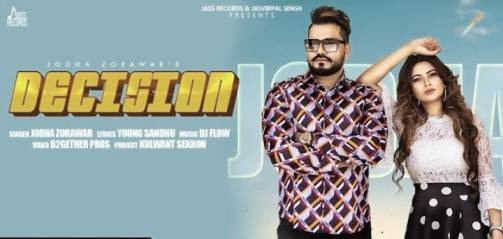 Decision lyrics Jodha Zorawar | Dj Flow | Latest Punjabi Song 2020