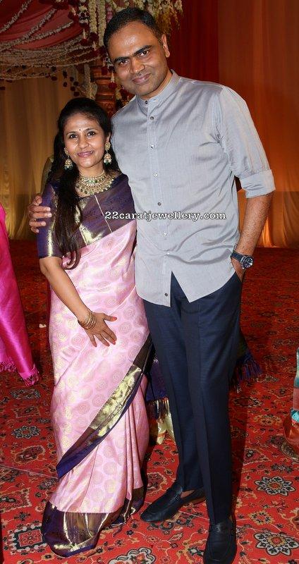 Vamshi Paidipally wife Malini Kundan Choker
