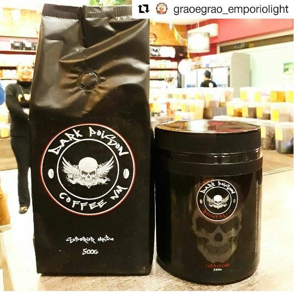 Cafés mais fortes do mundo: Dark Poison Coffee