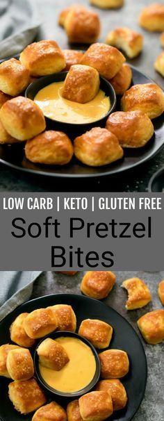 Low Carb Keto Soft Pretzel Bites Recipe