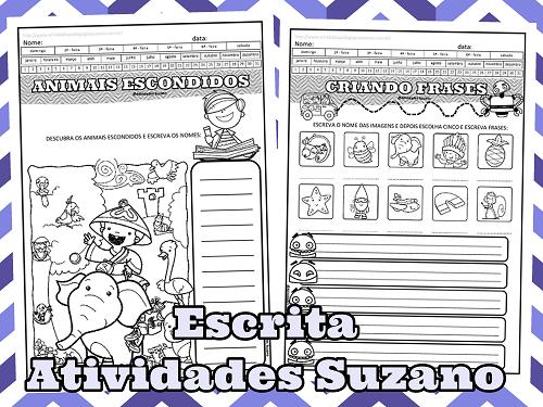 Alfabetização, escrita, leitura, frases, língua portuguesa, produção de texto