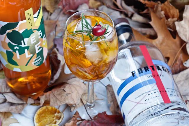 recette-spritz,gin-portage,aperitivo-les-iles,aperol-quebecois,gin-quebecois,madame-gin