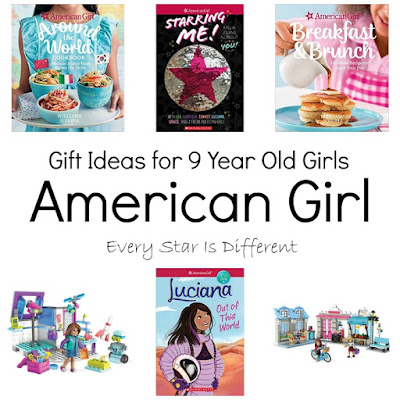 Gift Ideas for 9 Year Old Girls-American Girl
