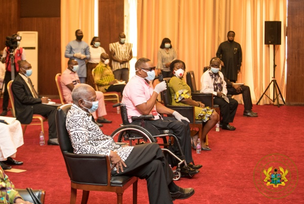 "Political Parties Commend President Akufo-Addo For ""Exemplary, Decisive"" Covid-19 Fight"