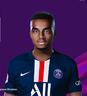 PES 2020 Faces Colin Dagba by Milwalt