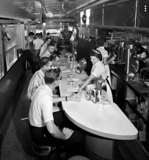 an old-style diner