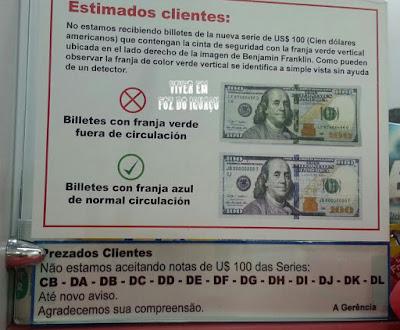 Compras no Paraguai: Atenção, pagamento em dólar não está sendo aceito em Ciudad del Este