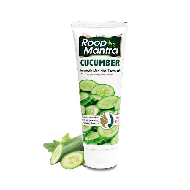 Roopmantra Cucumber Face Wash - The Best Solution for Moisturized Skin