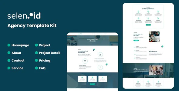 Best Creative Agency Elementor Template Kit
