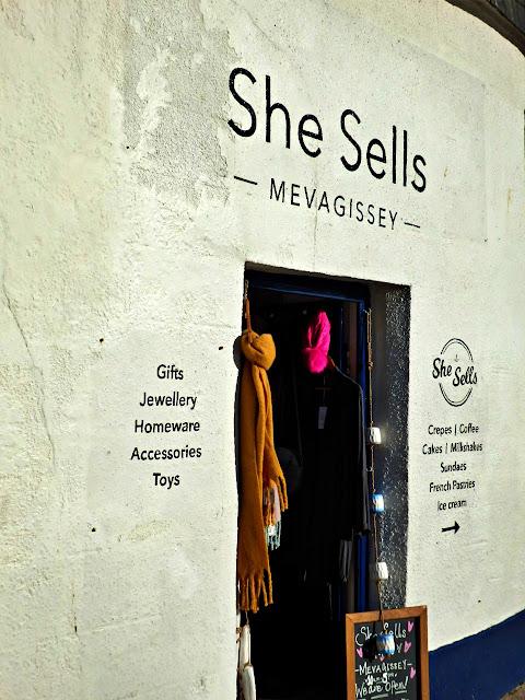 Mevagissey shop: She Sells