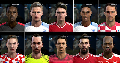 PES 2013 Facepack №3 by bradpit62