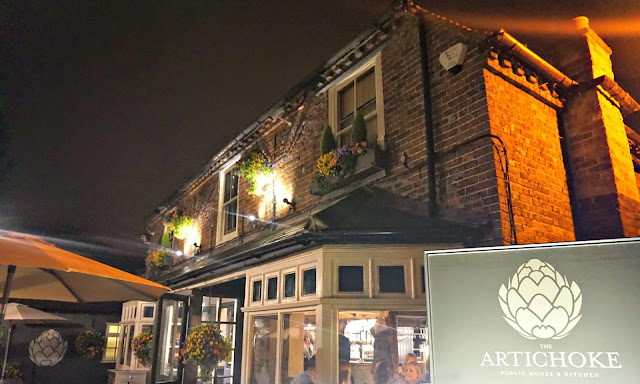 Artichoke restaurant exterior