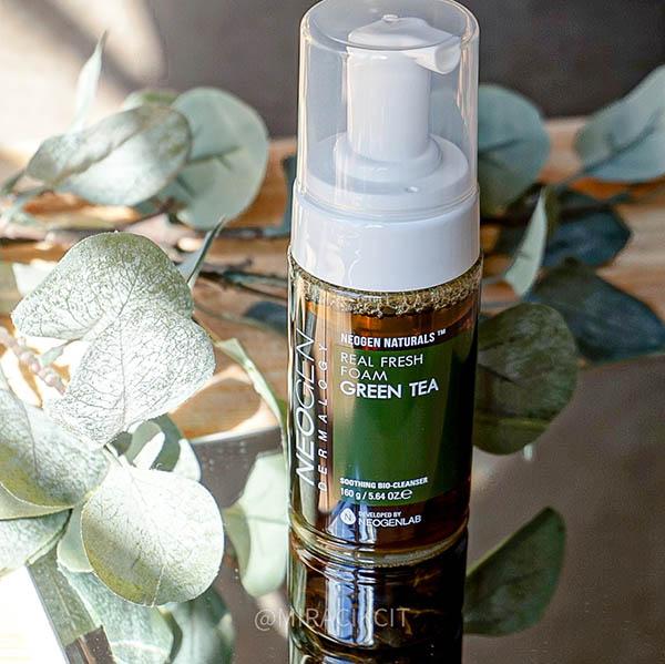 Neogen Green Tea Foam Cleanser Review