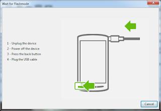 Cara Flashing Sony Xperia