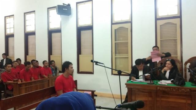 Bisnis Sabu, Andi Dituntut 8 Tahun Bui