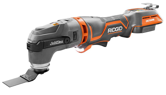 Ridgid OCTANE Cordless Brushless JobMax Multi-Tool with Tool-Free Head
