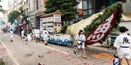 Spiritual festivals in Hiroshima and Nagasaki