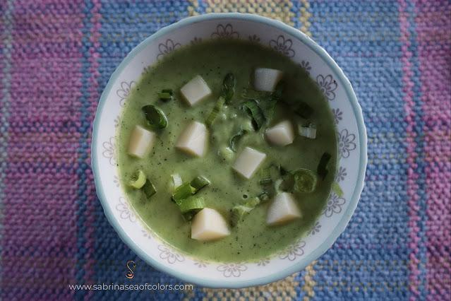 Crema de zucchini o calabacín keto