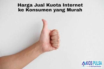 Harga Jual Kuota Internet ke Konsumen yang Murah