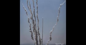 Gazan Muslims launch missile at Israel to kill Jews - Why is the media silent?