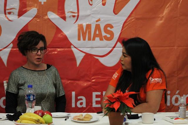 Exitoso taller para mujeres impulsado por Brenda Fraga
