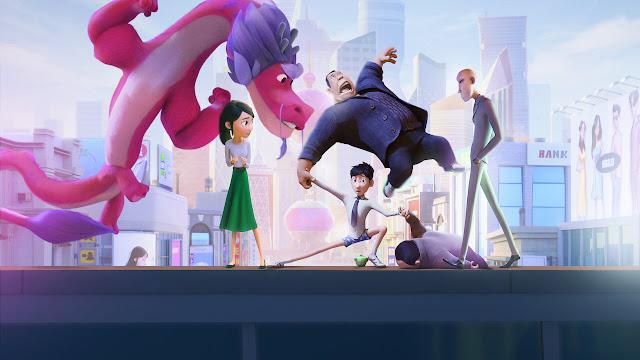 Din e o Dragão Genial: confira o trailer da nova animação da Netflix ambientada na China