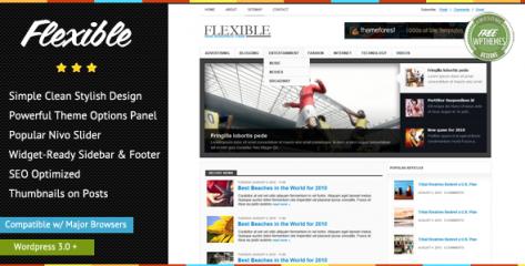Free Flexible News - Awesome News WordPress Theme