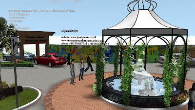 Desain taman 3D jakarta