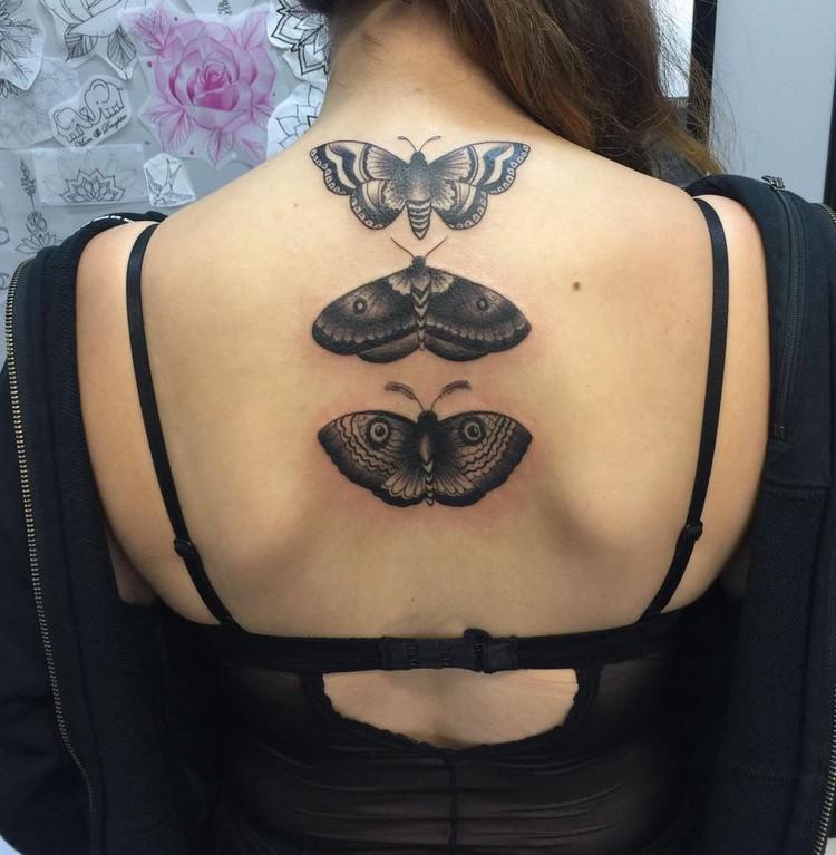 tattoos with butterflies steampunk