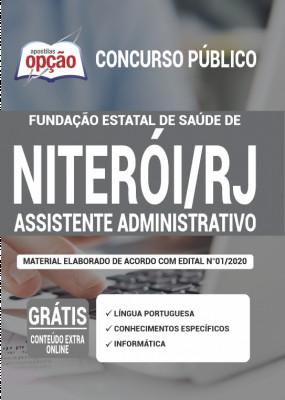 A Apostila FeSaúde - RJ PDF 2020 - Assistente Administrativo foi elaborada de acordo com o Edital 01/2020 do concurso, por professores especializados em cada matéria e com larga experiência em concursos.