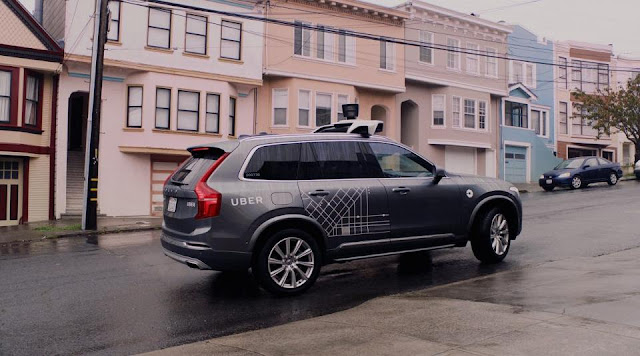 Uber Hedging Self-Driving Technology Bets With Daimler Deal
