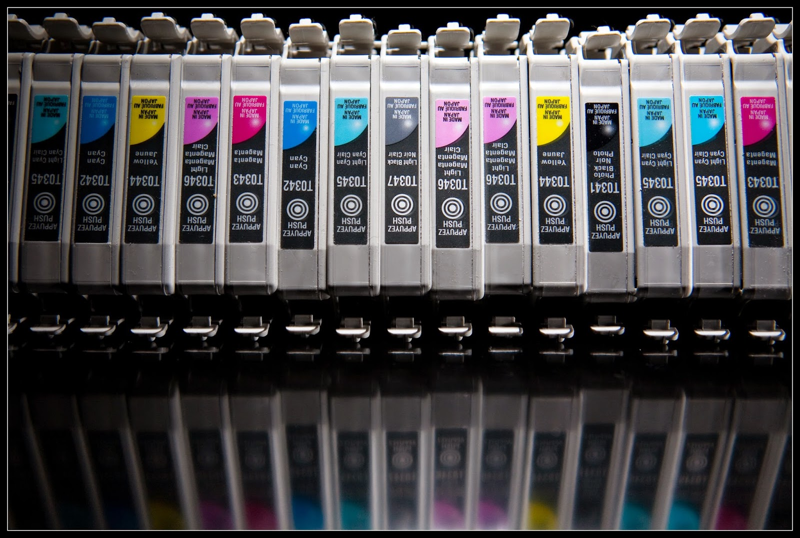 canon ink cartridge change