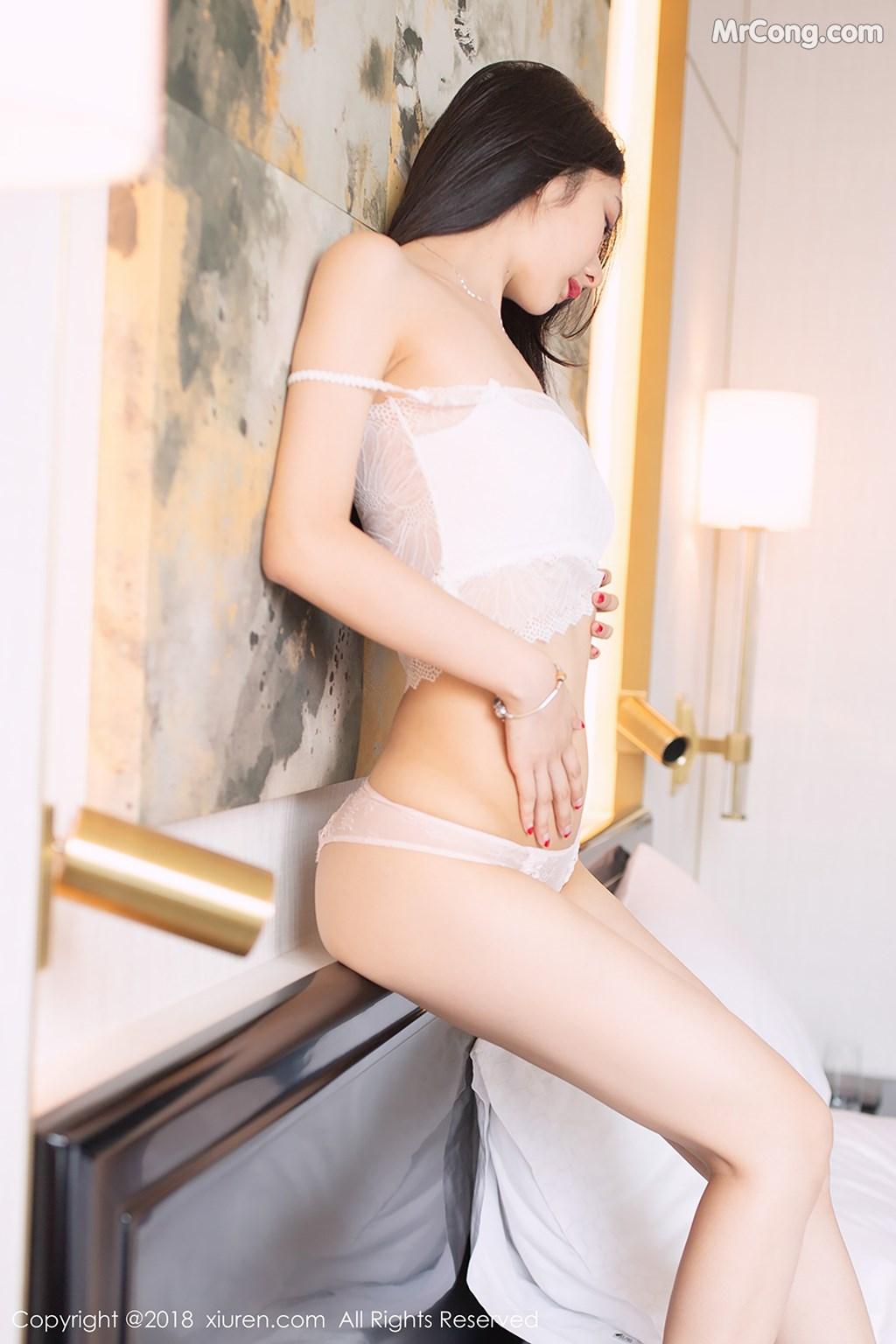Image XIUREN-No.1194-Xiao-Reba-Angela-MrCong.com-003 in post XIUREN No.1194: Người mẫu Xiao Reba (Angela小热巴) (42 ảnh)