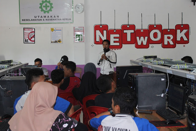 Grand Launching, ekskul IT Club SMK Yasmida Ambarawa