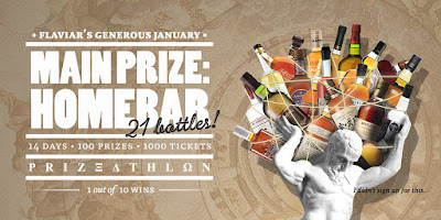 Enter the Flaviar's Generous January Prizeathlon. Ends 1/31 100 Winners