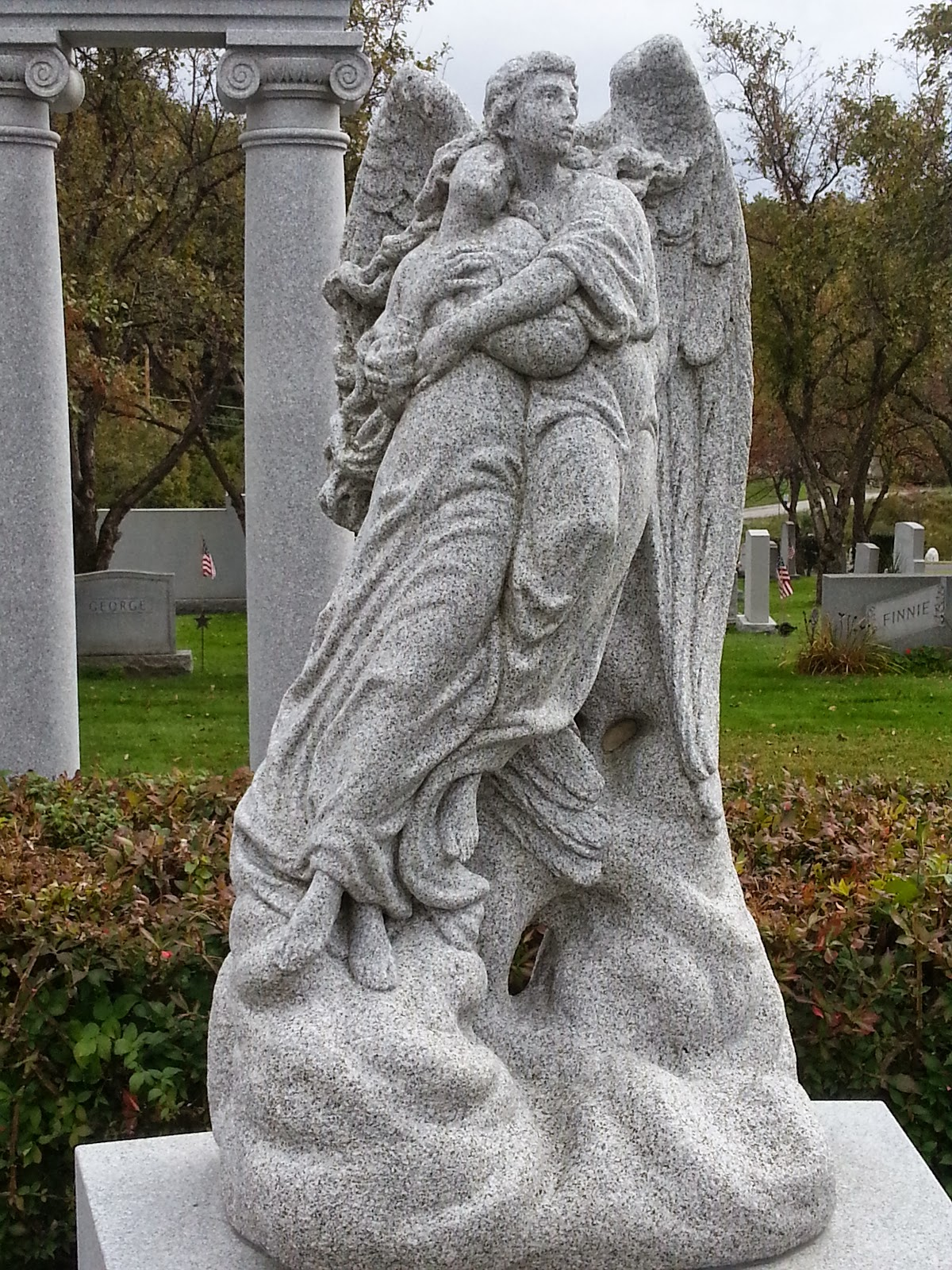 Hope Granite Barre Sculpture Vermont Cemetery