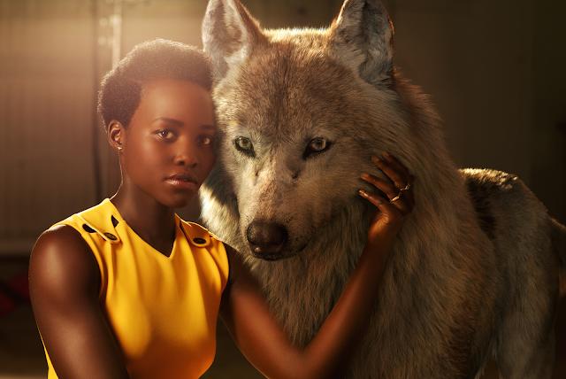 Lupita Nyong'o în rolul lupului Raksha