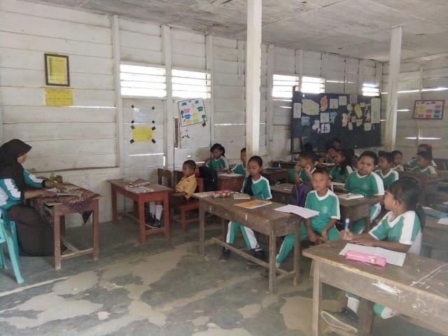 Kurang Perhatian Pemerintah SDN 1 Pematang Sari  Gunakan Perumahan Guru Untuk  Ruang Belajar